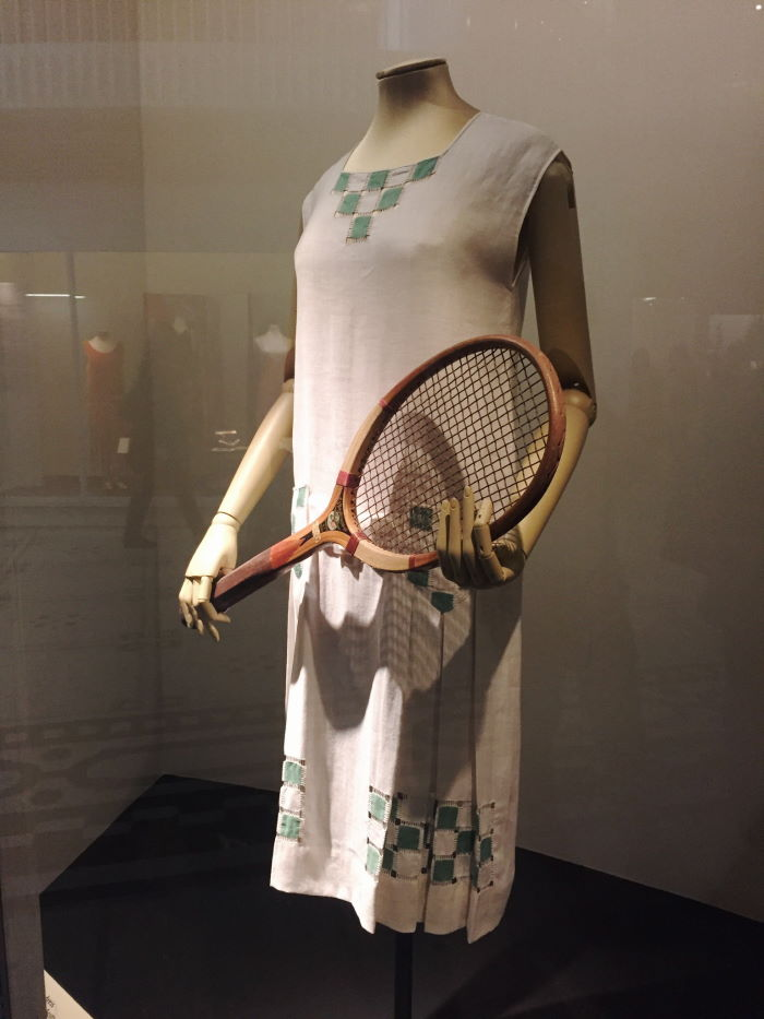 Tennis dress Hepburne Scott, 1926