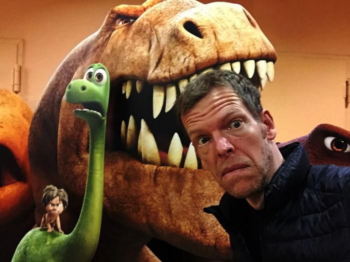 Der T-Rex sorgt für nächstliche Unruhe