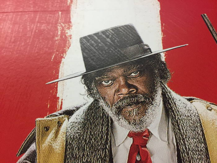 The Hateful Eight Samuel L. Jackson Movie Poster