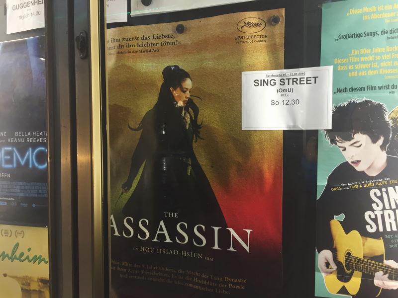 The Assasin Kino Atelier München Filmplakat