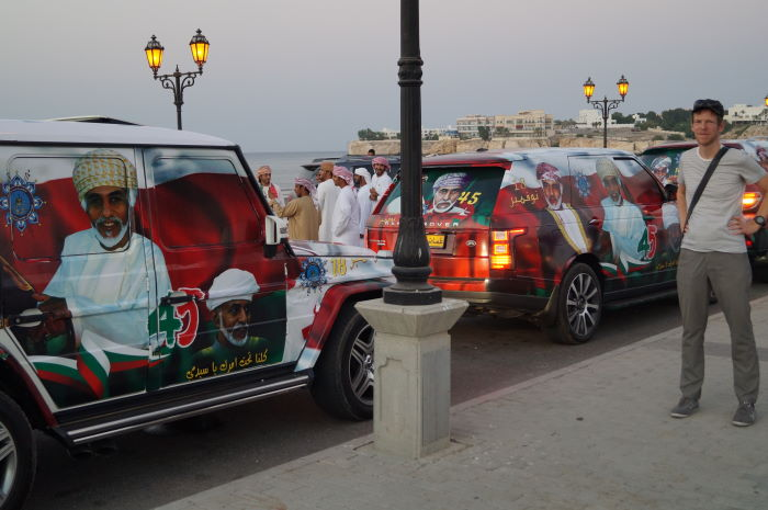 Oman, Muscat, National Day, Car Parade Parade