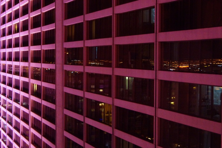 Las Vegas Hotel Flamingo at night Photo Series Kristian Laban