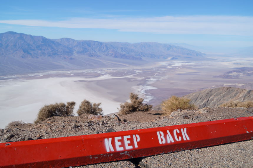 Scrapbook Keep Back Death Valley Kristian Laban