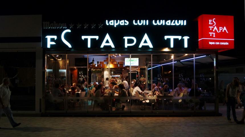 Jávea Xàbia Playa restaurante estapati Photo by Kristian Laban