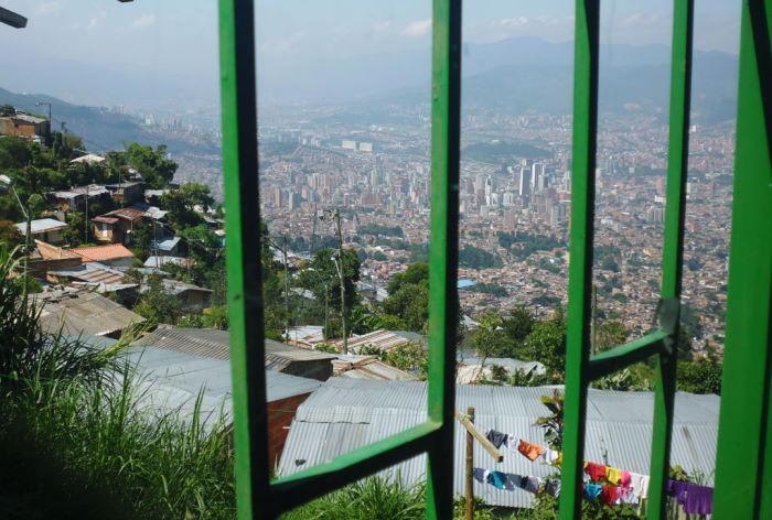Colombia Medellín View from La Cruz