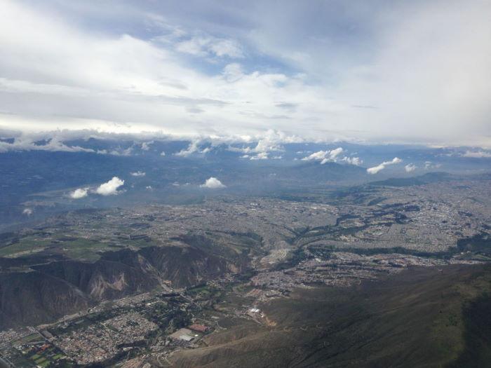 Quito imagen aérea