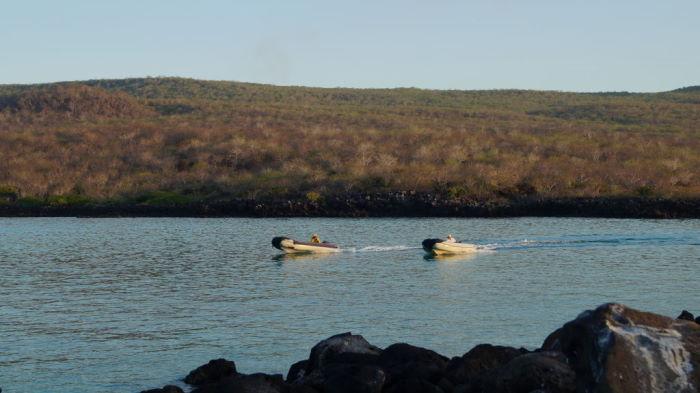 Galápagos Crucero Isla Lobos Pangas