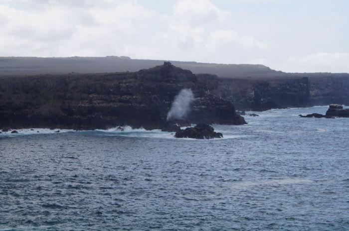Galápagos Crucero Española Steamhole