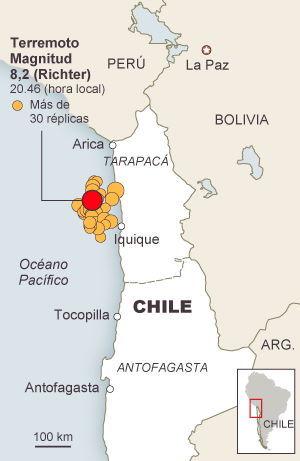 Galápagos Crucero Earthquake Tsunami el pais