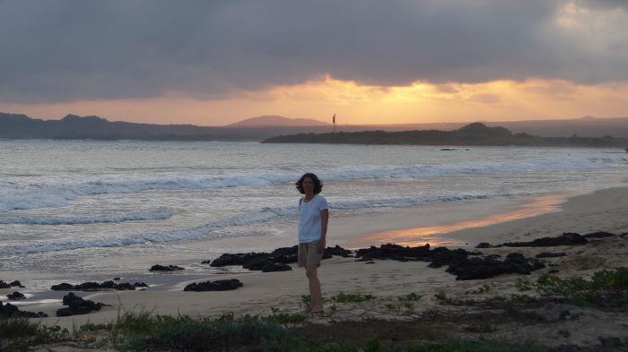 Galápagos Isla Isabela Puerto Villamil Sunset