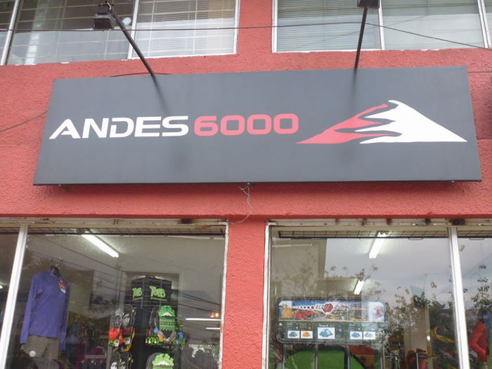 Quito Andes 6000 Store