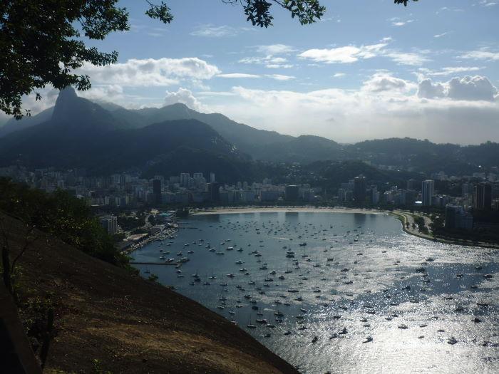 Rio de Janeiro Zuckerhut Blick von oben