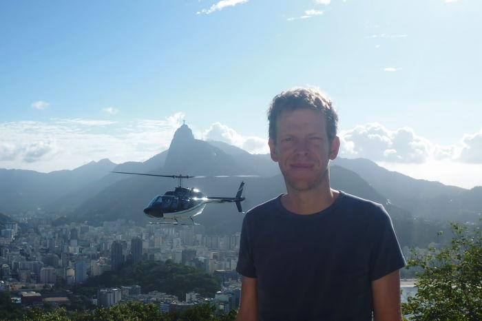 Rio de  Janeiro Zuckerhut Helikopter