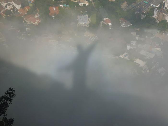 Rio de Janeiro Corcovado Cristo Redentor Schattenwurf