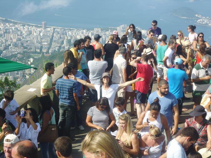 Rio de Janeiro Corcovado  Cristo Redentor