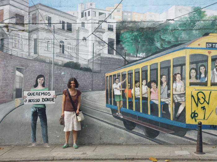 Rio de Janeiro Santa Teresa Bonde