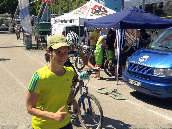 Munich Olympiaparc Mountainbike