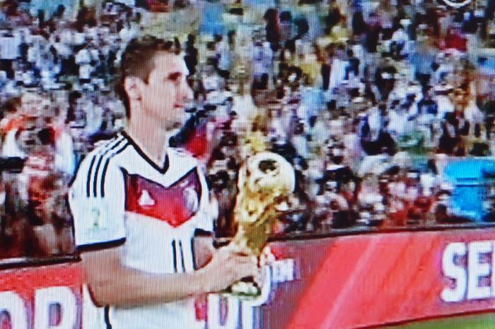 Miroslav Klose Maracanã Rio de Janeiro World Cup 2014