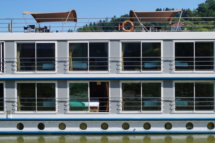 Passau Germany Bavaria River Cruise Hotelroom Danube