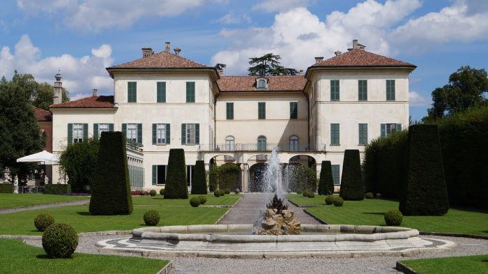 Villa Menafoglio Litta Panza in Varese, Italy