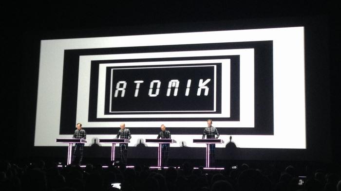 Kraftwerk Concert Karlsruhe 2014 ZKM