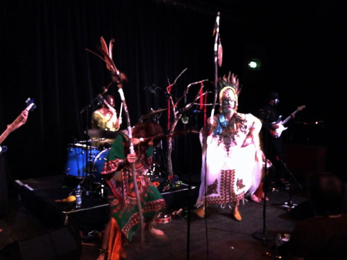 Goat Band Munich Muffathallte Ampere 2014 girls