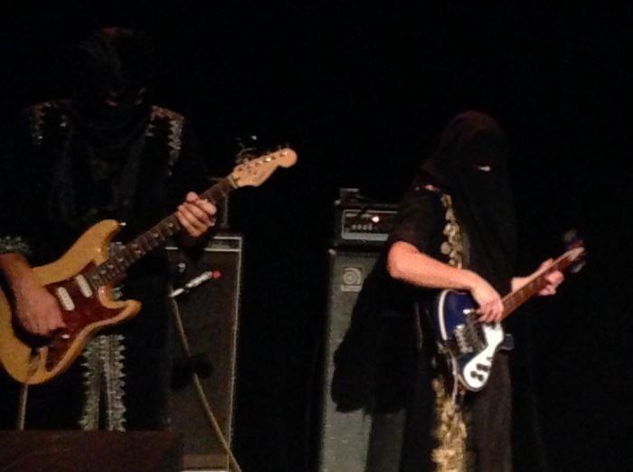 Goat Band Munich Muffathallte Ampere 2014 Bassplayer