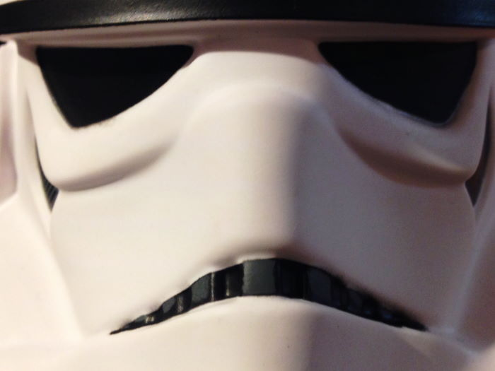 London Harrods Toy Section Stormtrooper Face
