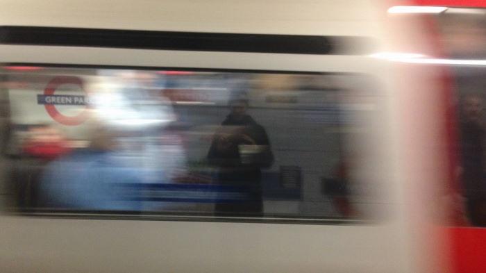 London Underground Laban Selfie