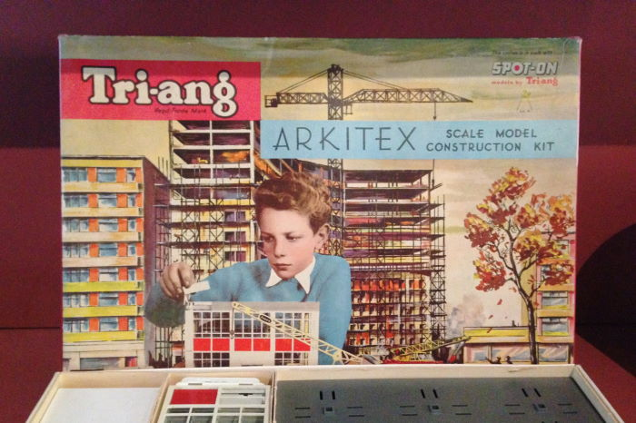 Tri-Ang Construction Kit 1962 Museum Of Childhood
