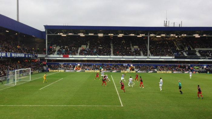 London, Loftus Road: Queens Park Rangers vs. Swansea City 1:1