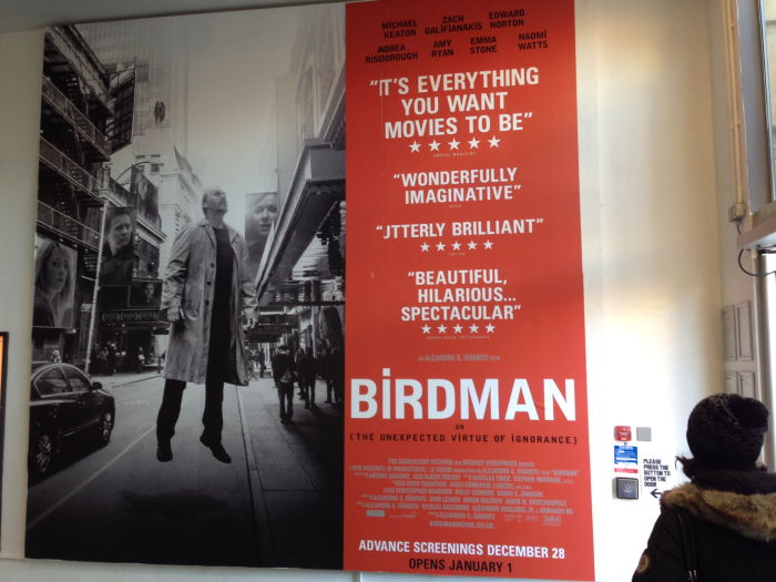 Hackney Picturehouse London Birdman Poster