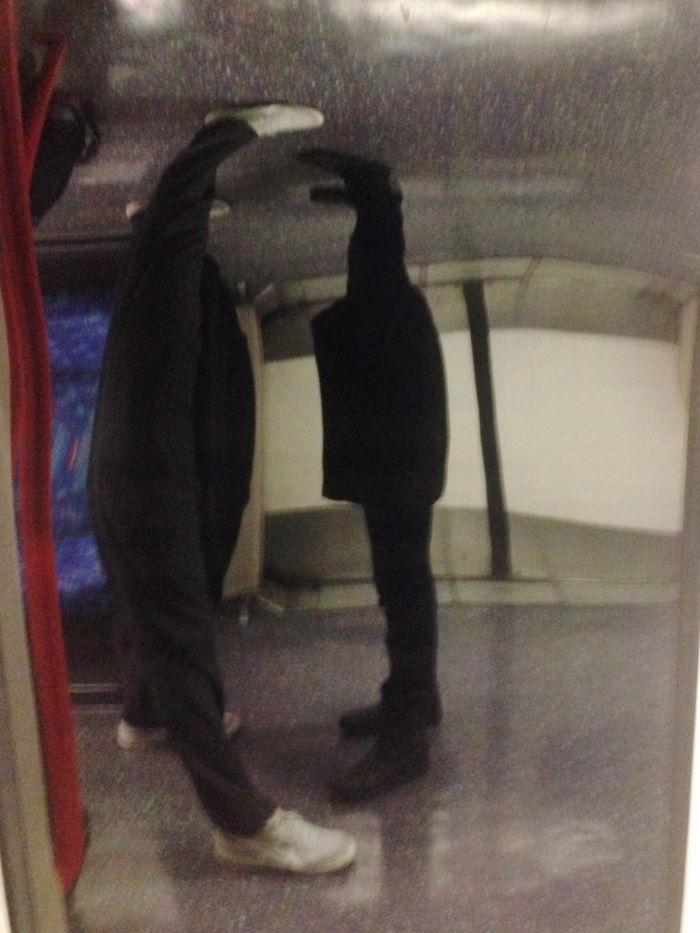 London Underground Legs