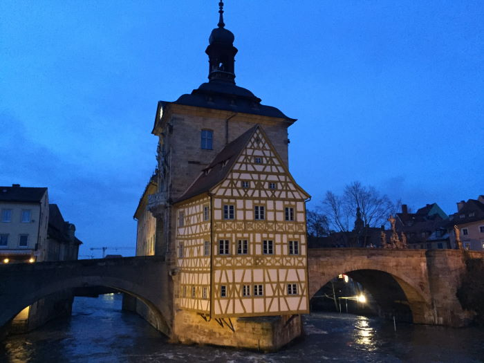 Bamberg Altes Rathaus Classic View