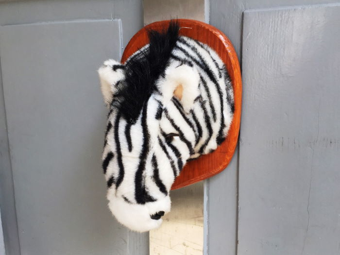 Hofflohmarkt Haidhausen München Trauriges Zebra