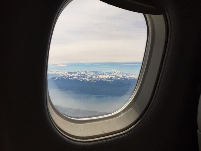Flight Munich to Geneva sit left