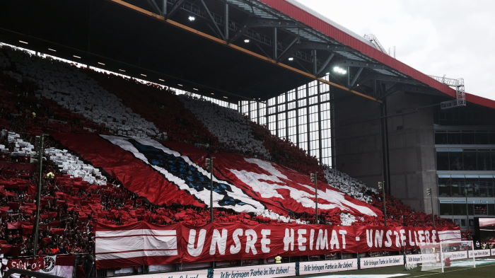 Saison 2014-2015 1.FC Kaisersalutern - FC Ingolstadt 1:1 Choreografie