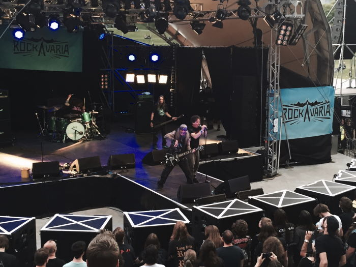 Saint Vitus performing at Rockavaria Festival Munich