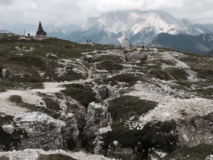 Südtirol Monte Piana Freilichtmuseum
