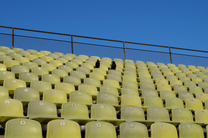 Munich Olympic Stadium Green Chairs