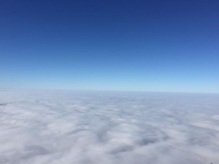Inversionswetterlage Jochberg Über den Wolken