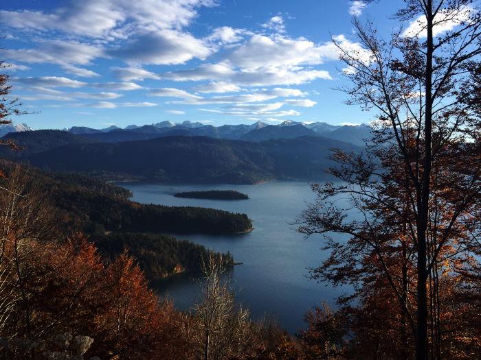 Walchensee Herbststimmung