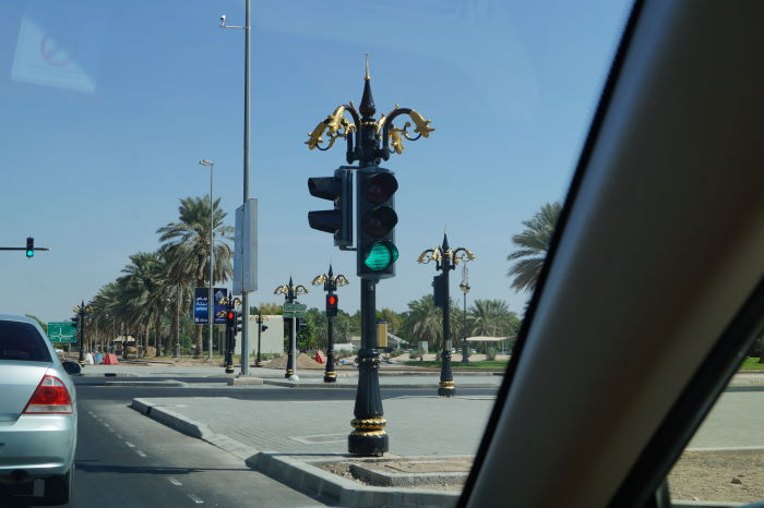 Al Ain Beautification of traffic lights