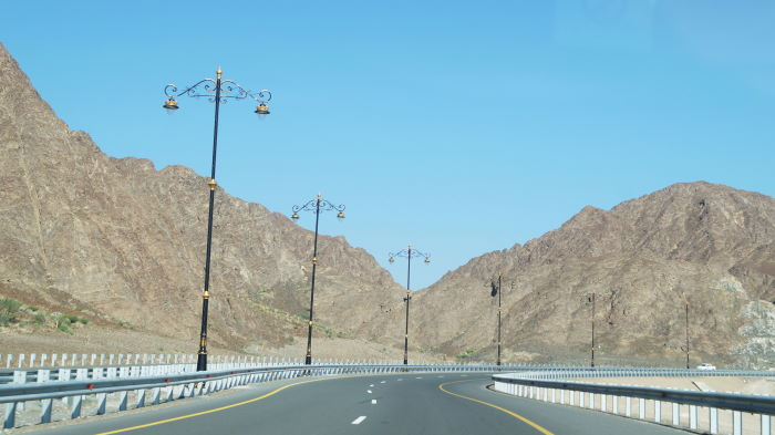 Oman, Nizwa, Straßenlaternen