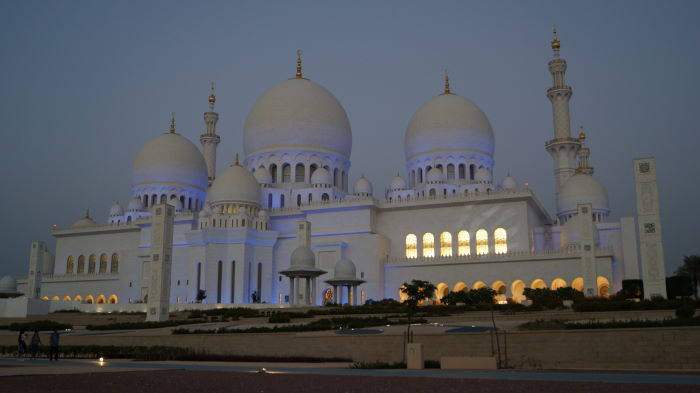 Sheikh Zayed Mosque Abu Dhabi Pano