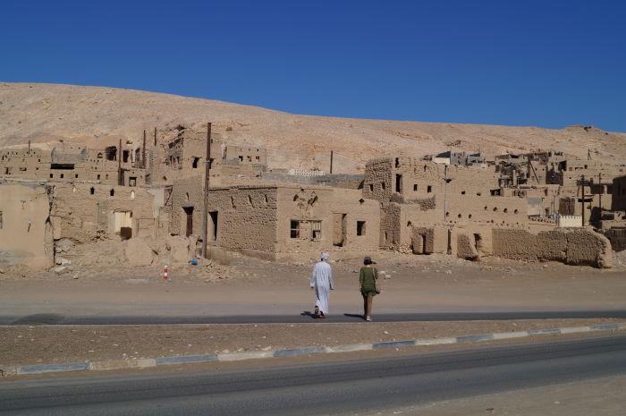 Ibri, Oman, Verlassenes Dorf