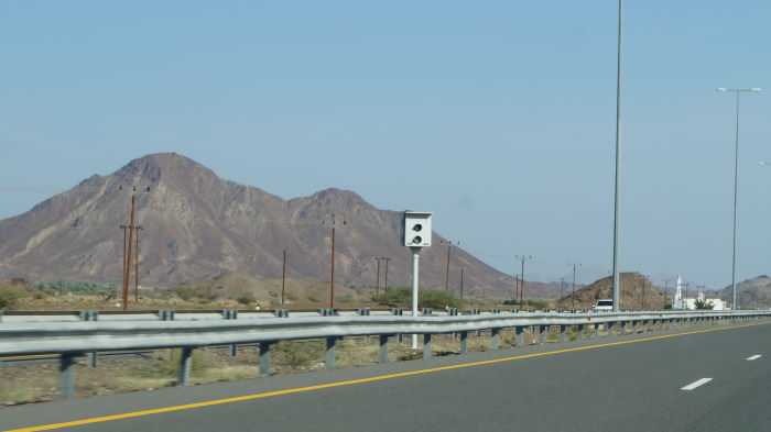 Oman, Ibri to Nizwa, Blitzkasten