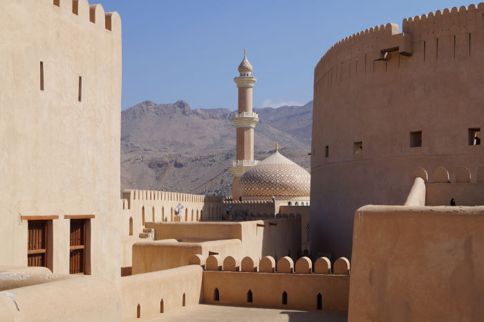 Oman, Nizwa, Fort, Mosque