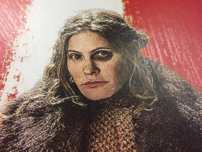 The Hateful Eight Movie Poster Jennifer Jason Leigh