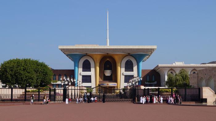 Qaṣr al-ʿalam Palace Muscat Oman